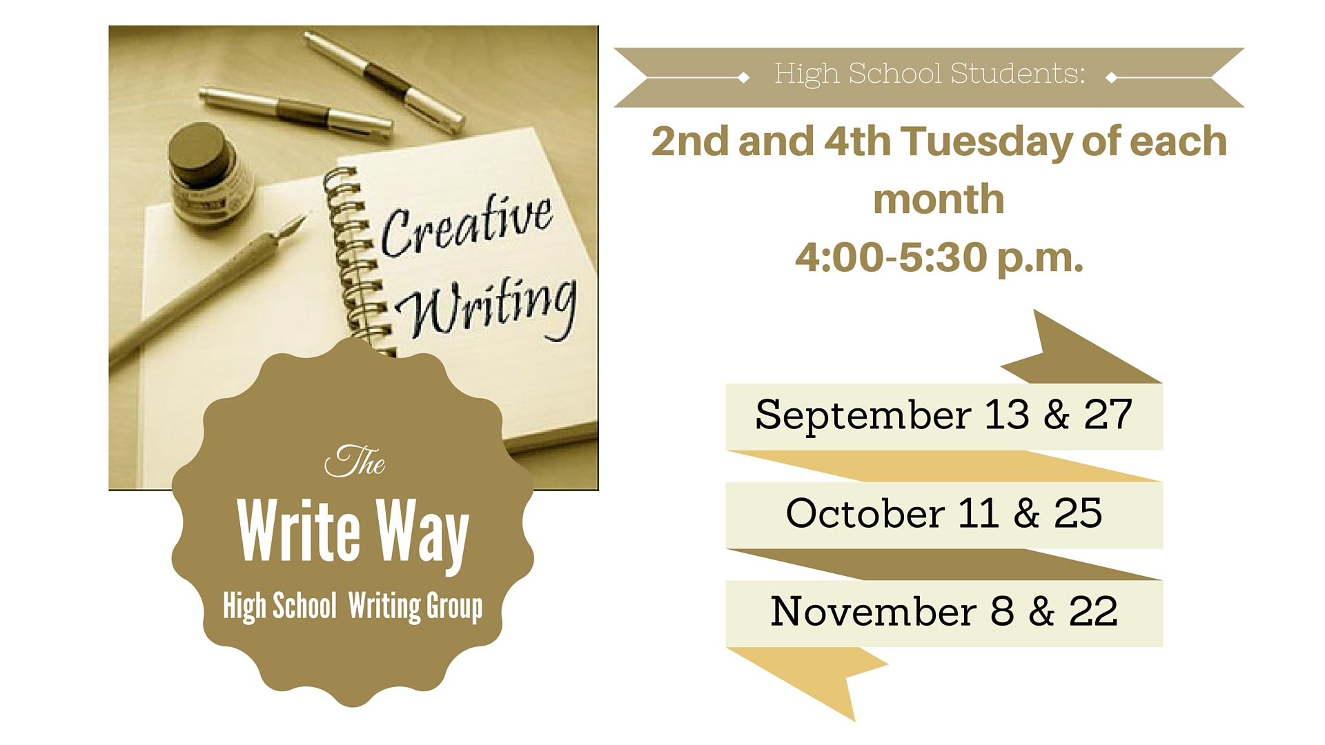 Events city of hiawatha ia all students in grades 9 12 are invited to attend this writing round table at the hiawatha public library writers will share their work with each other stopboris Choice Image